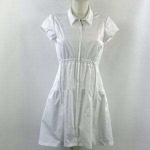 Nanette Lepore White Short Sleeve Dress Size Small